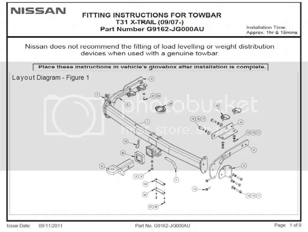 towbar caravan electrics wiring diagram 12 inch alpine type r nissan 370z harness bar get free image about