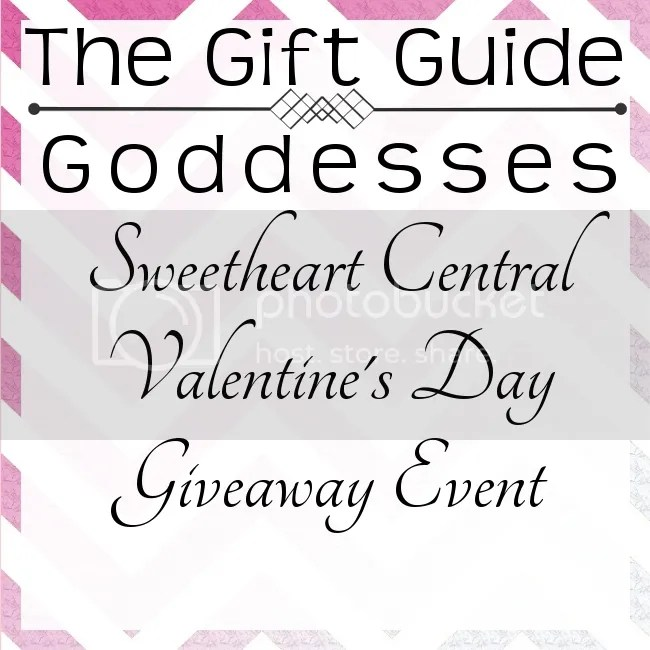 #GiftGuideGoddesses #SweetsCentral Valentine's Day Giveaway Event