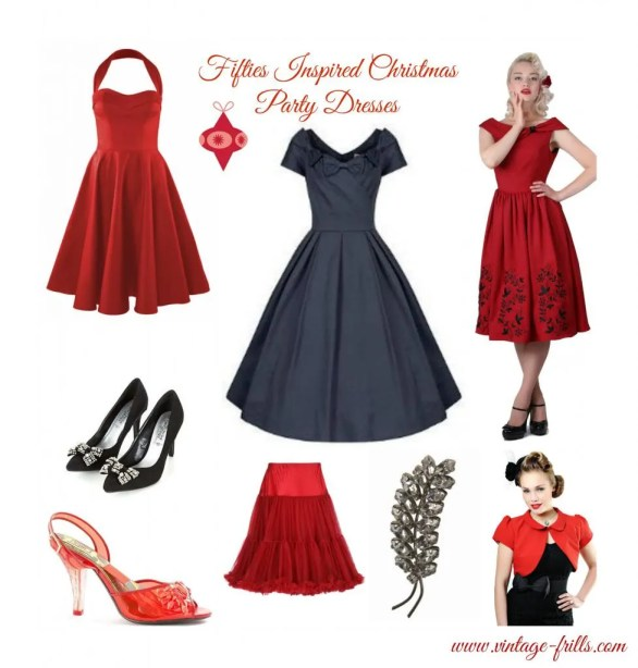 so its time to put on a circle skirt and look as charming as the fairy at the top of the tree with these 3 gorgeous dresses and some beautiful accessories