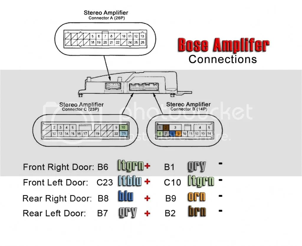 hight resolution of acura tl bose amp wiring im gonna be using a audison bit ten signal processor