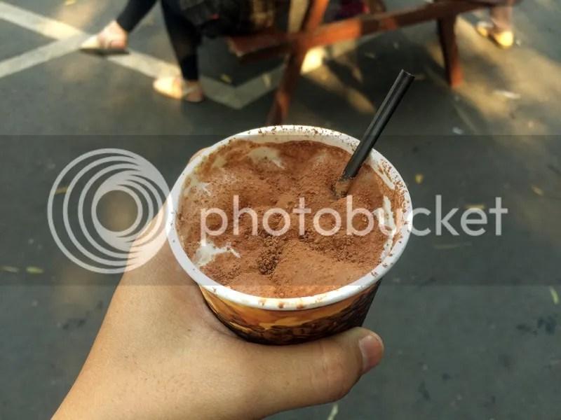 Iced Cappuccino at Summer Food Festival Bandung | Hola Darla