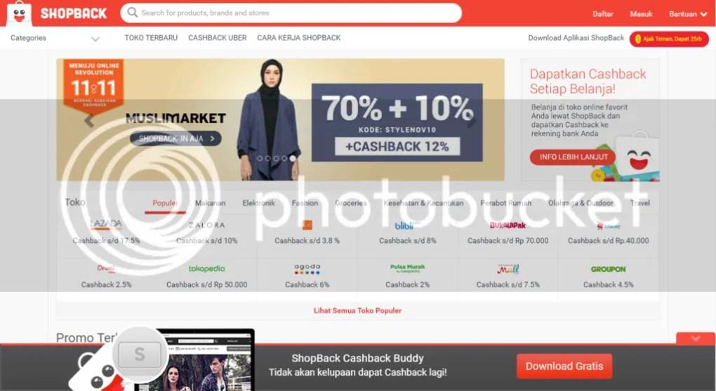Dapat cashback dari ShopBack | Hola Darla
