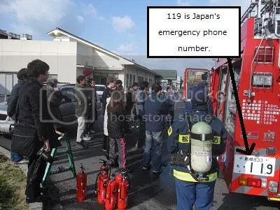 119 is the emergency telephone number in Japan.