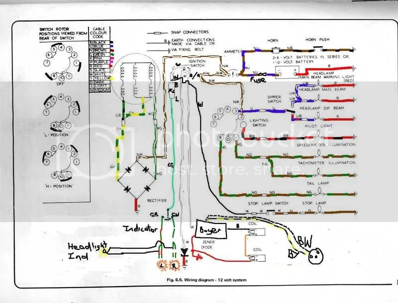 Wiring Diagram For Lucas 6ra Relay