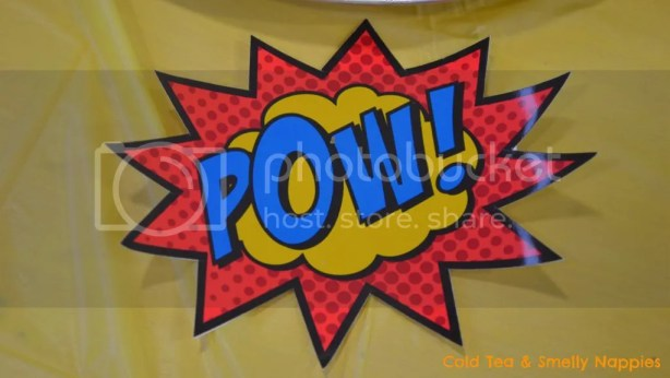 Superhero Party Signs