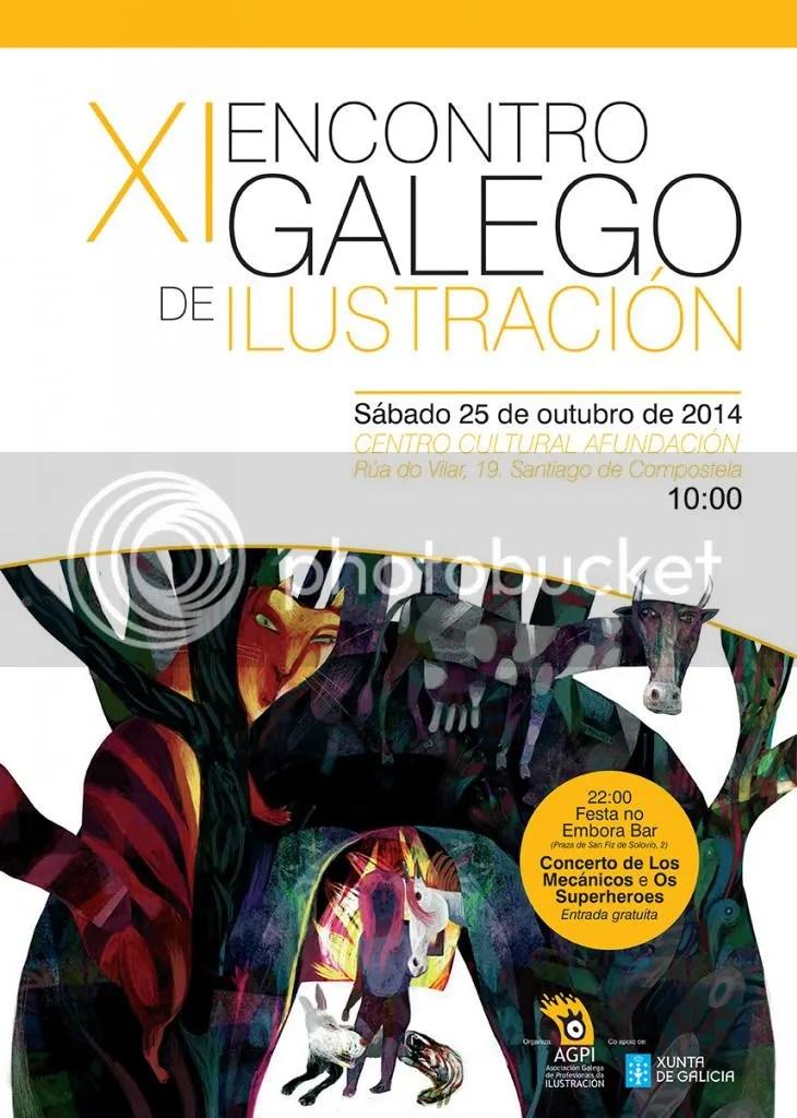 11 econtro galego de ilustración