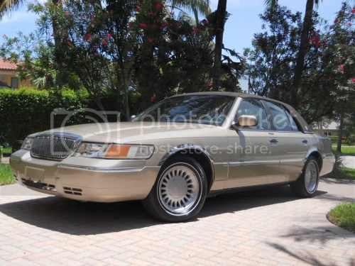 small resolution of  1999 mercury grand marquis ls low miles