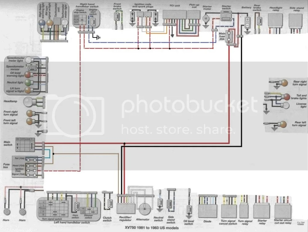 medium resolution of virago xv wiring diagram simple virago 920 wiring 89 virago wiring diagram simple yamaha virago 750