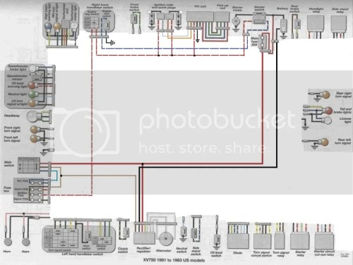 small resolution of virago xv wiring diagram simple virago 920 wiring 89 virago wiring diagram simple yamaha virago 750