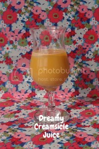 Dreamy Creamsicle Juice