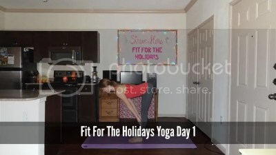 Fit For the Holidays Yoga Workout 1