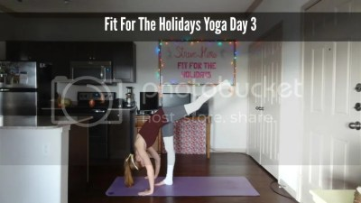 Fit For the Holidays Yoga Workout 3