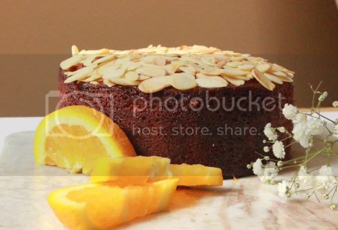 Almond Cake With Orange Flower Water Syrup | Figs & Pigs