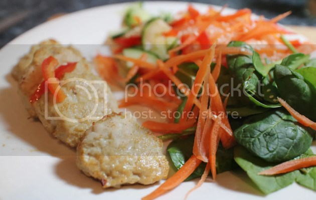 photo Thai Chicken Cakes and Satay Noodle Salad 2_zpslh4xg3qv.jpg