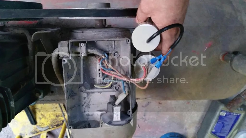 100 Hp Electric Motor Wiring Diagram 240 V Compressor Motor With Capacitor Fault Mig Welding