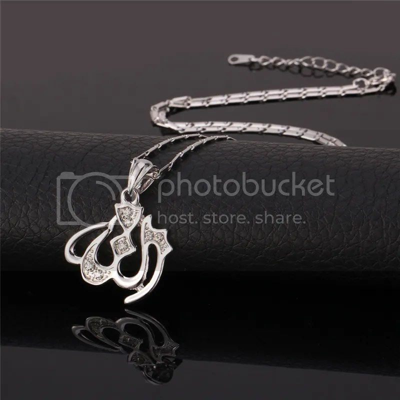 Fashion Allah Pendant 18K GoldPlatinum Plated Necklace Muslim Islamic Jewelry  eBay