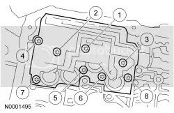 Ford Explorer 5R55S Transmission Solenoid Pack Replace