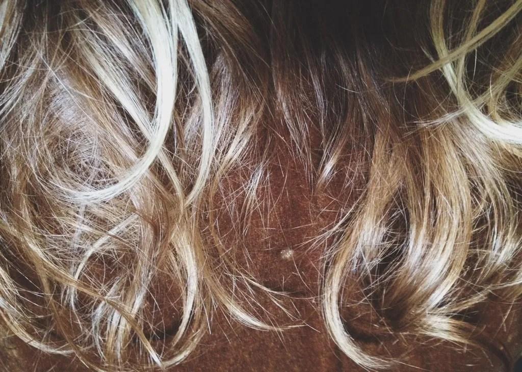 lustrous pregnancy hair