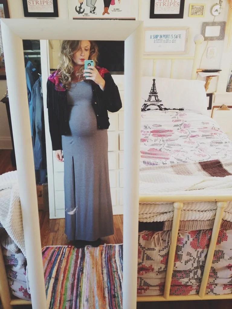 maternity fringe