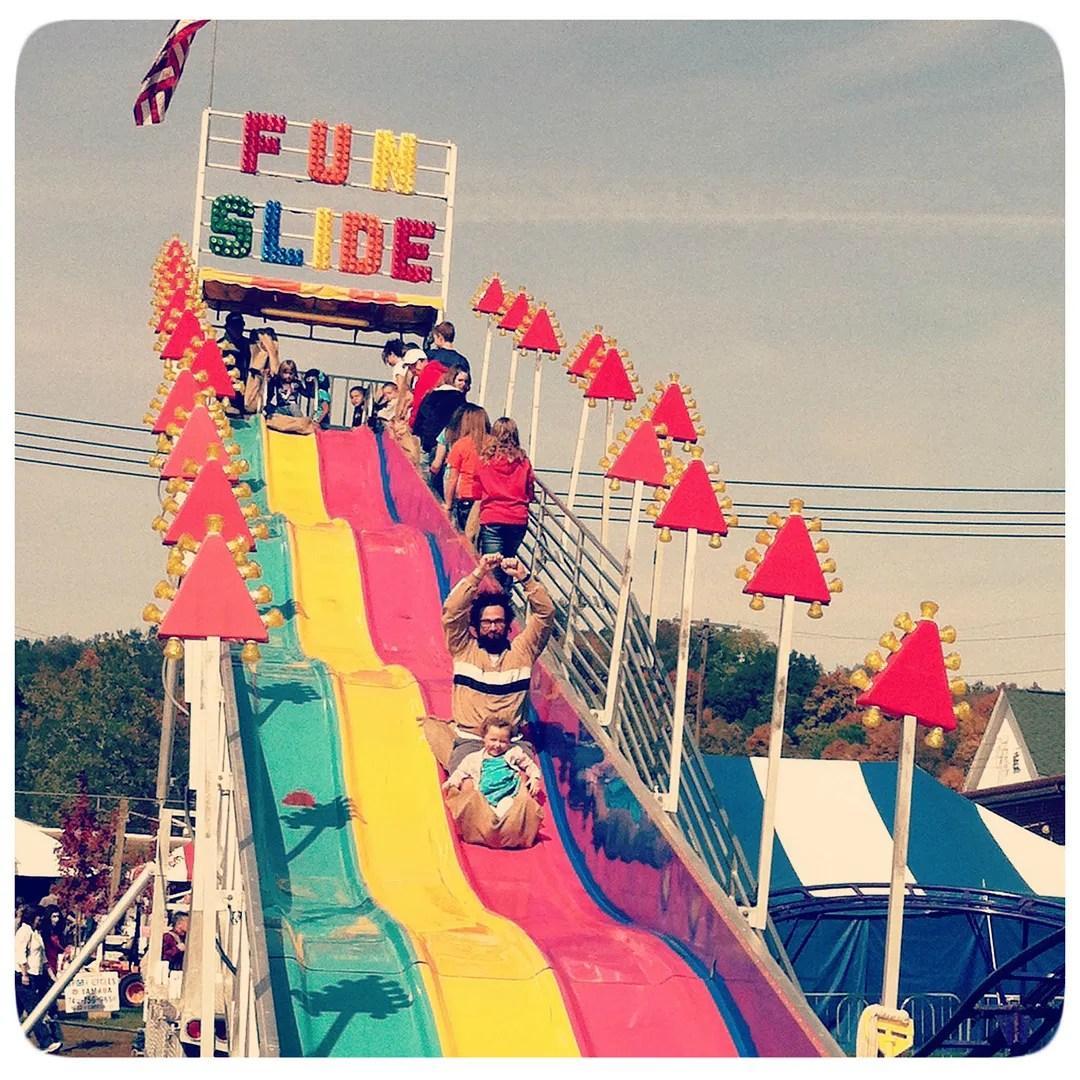 funslide round
