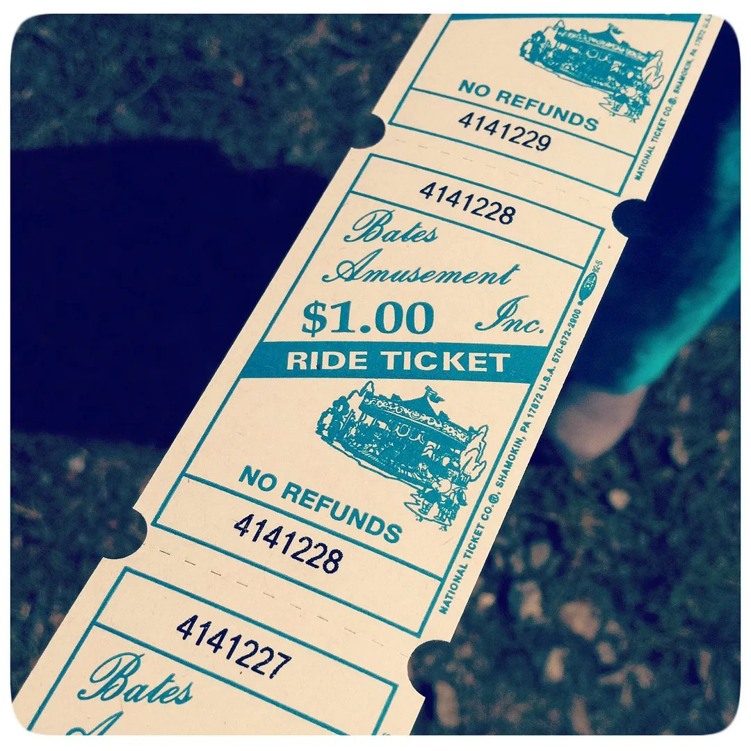 tickets round