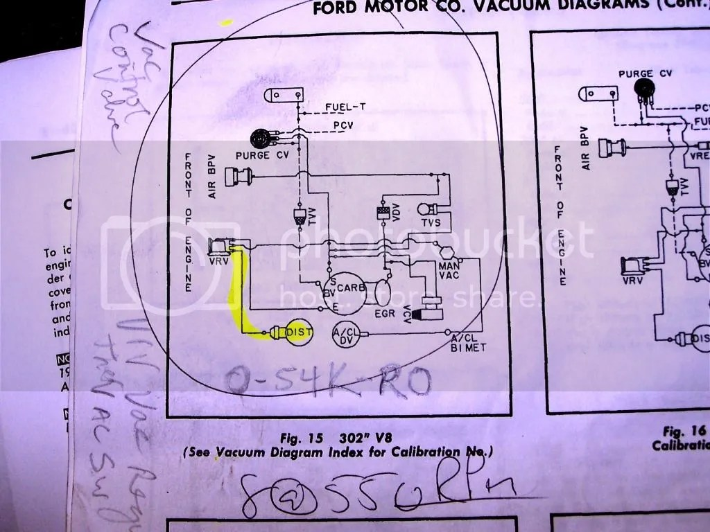 1980 Ford Vacuum Diagram