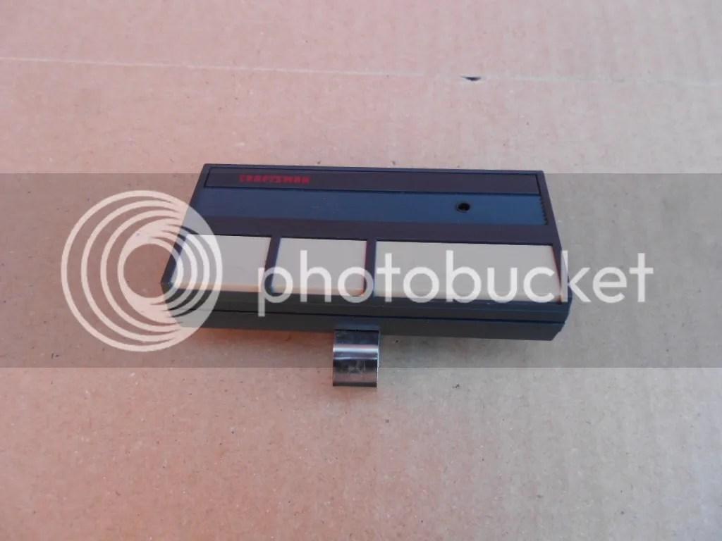 SEARS  CRAFTSMAN Garage Door Remote Opener K727 Model 13953778 HBW1D3469  eBay
