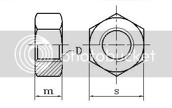 Nylon Hex Nut Plastic Nut M2 M3 M4 M5 M6 M8 M10 M12 M14