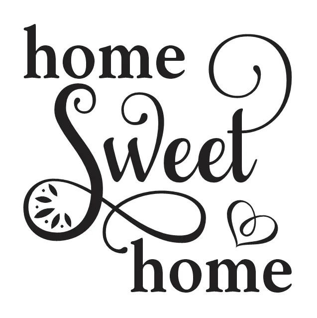Primitive STENCIL**home Sweet home**12x12 for painting