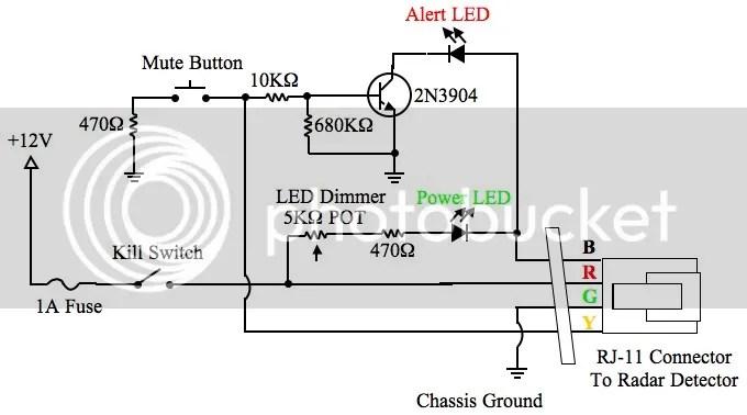 DIY Radar Detector Hardwire with SmartCord Functions