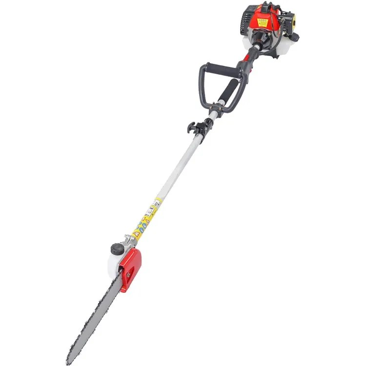 52cc 5 in 1 Hedge Trimmer, Chainsaw, Strimmer, Brush