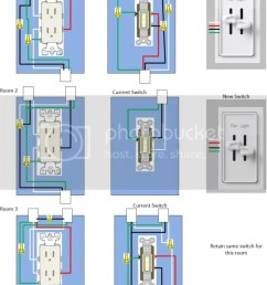 control a wall receptacle do it inside power outlet diagram with room 3 this switch is connected to a double switch on opposite side of [ 769 x 1024 Pixel ]