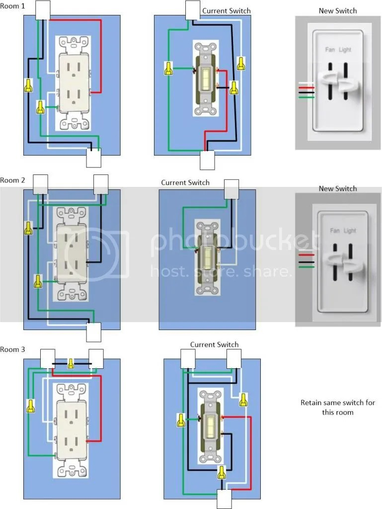 medium resolution of  control a wall receptacle do it inside power outlet diagram with room 3 this switch is connected to a double switch on opposite side of