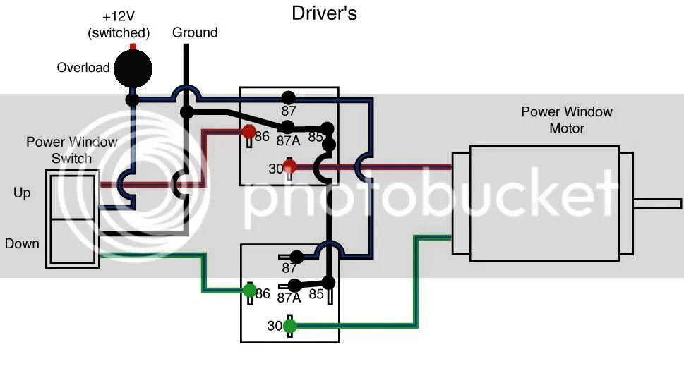 Wiring Diagram Power Window 4 Pintu