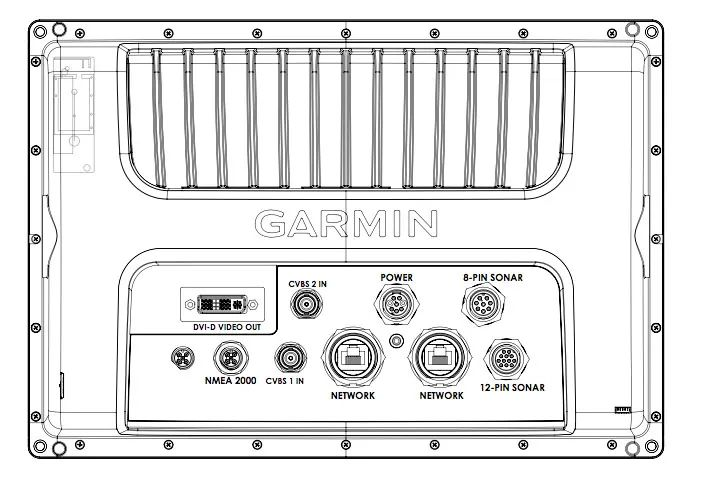 garmin transducer wire diagram