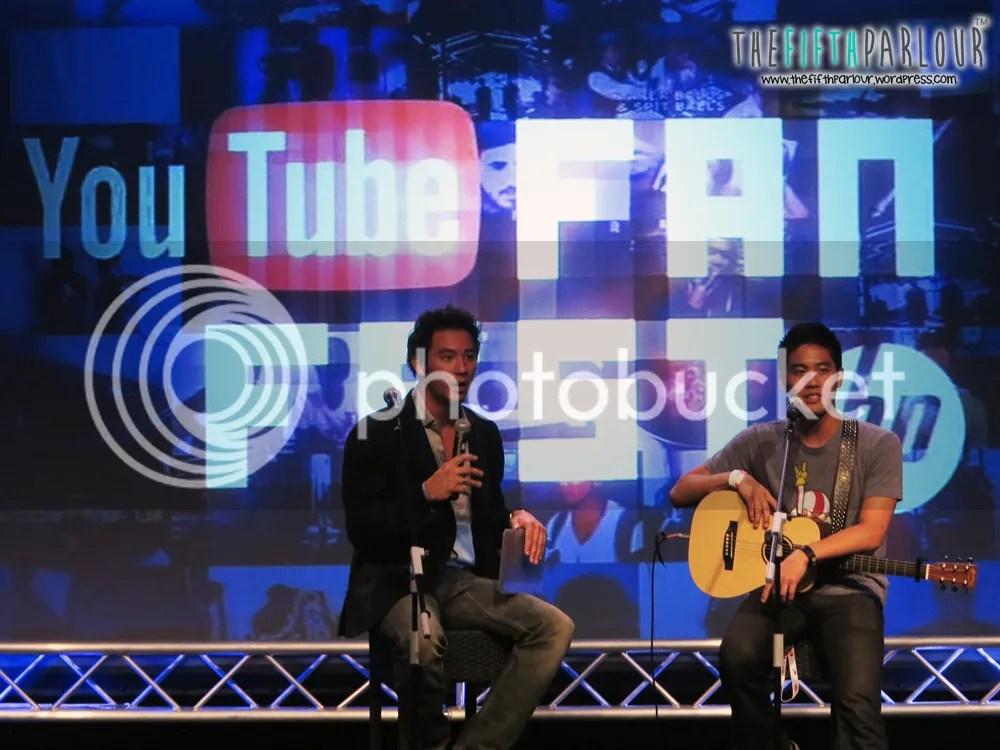 ryan higa, youtube fan fest, day 2, thefifthparlour, youtube