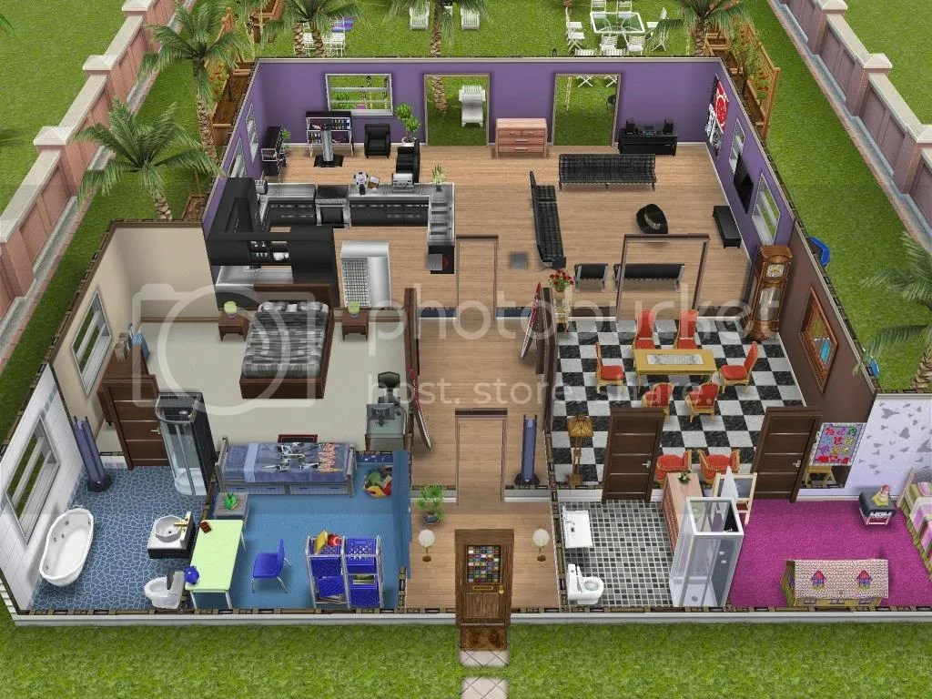 New Pre Designed Homes From The Update? The Sims FreePlay Forums