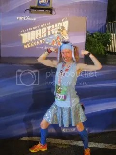 Me after finishing the Inaugural Disney World 10K