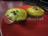Garden Lites Zucchini Banana Chocolate Chip Veggie Muffins (cooked)