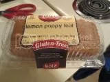 Katz Gluten Free Lemon Poppy Loaf