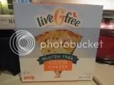Aldi liveGfree Gluten Free Cheese Pizza