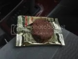 Grab the Gold Chocolate Peanut Butter Protein Snack Bar (unwrapped)