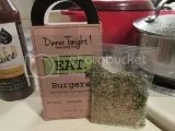 Dinner Tonight Burger Seasoning Mix