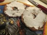 O'Doughs Gluten-Free Apple Cranberry Bagel Thins with Tofutti Better Than Cream Cheese
