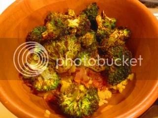 Oven Baked Broccoli Masala