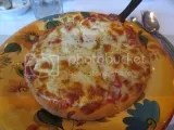 Da Luciano's Gluten-Free Pizza with Mushrooms, Onions, and Roasted Red Peppers