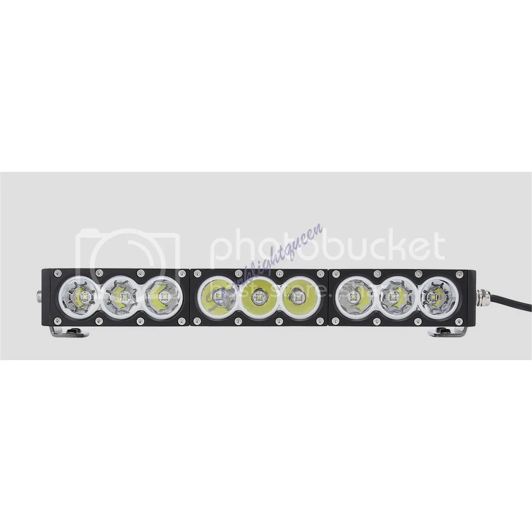 6 30w Cree 3led 10w Driving Work Light Bar Clear Lens