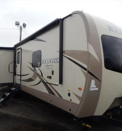 new 2018 forest river rockwood signature ultra lite 8332bs for sale by luke s rv sales  [ 1024 x 768 Pixel ]