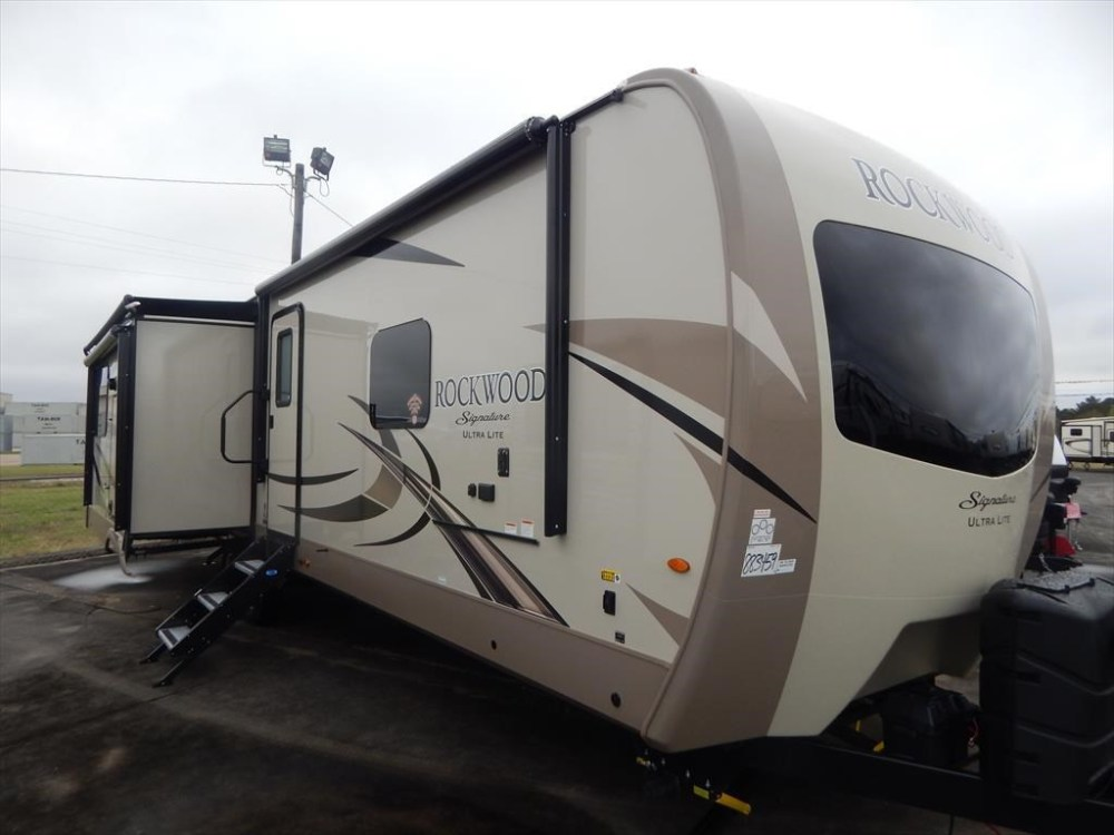 medium resolution of new 2018 forest river rockwood signature ultra lite 8332bs for sale by luke s rv sales