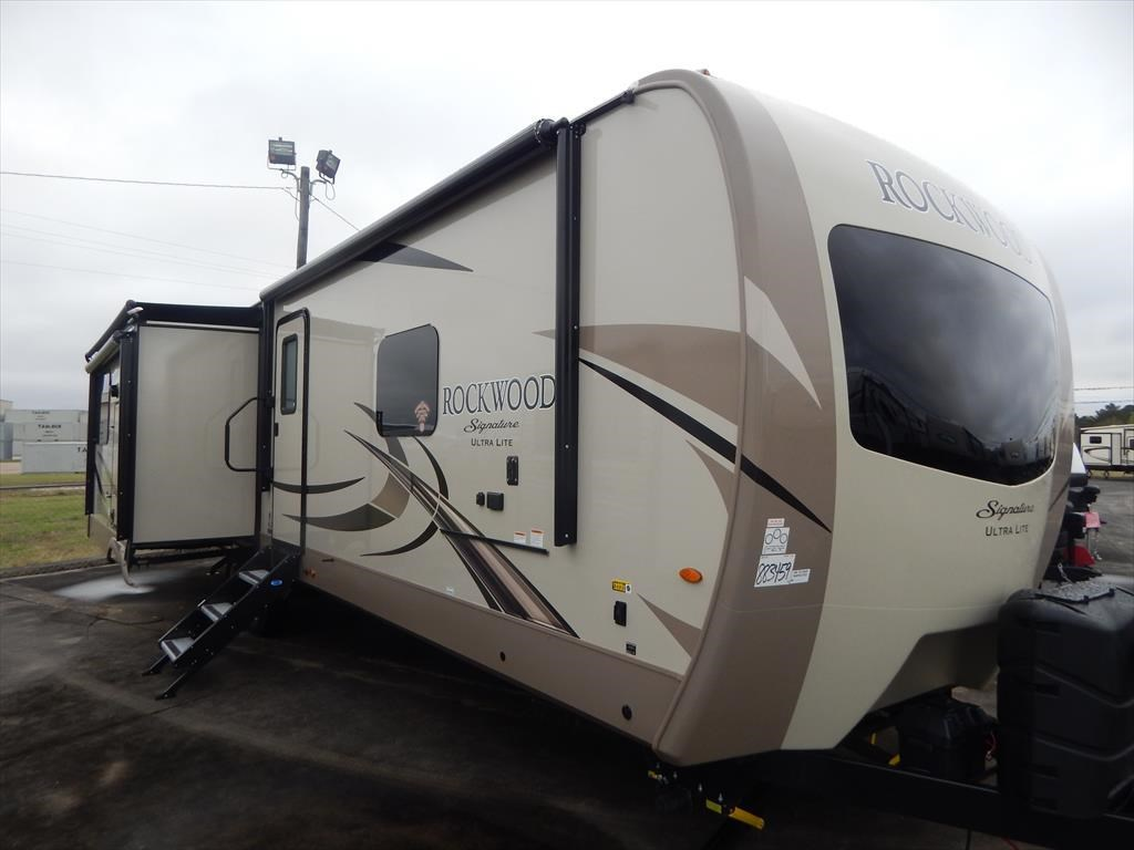hight resolution of new 2018 forest river rockwood signature ultra lite 8332bs for sale by luke s rv sales